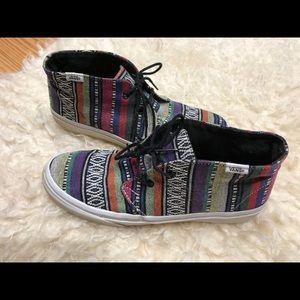 Vans Shoes - VANS Aztec high tops M 7.5 W 9 72df22f94